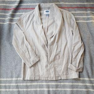 Old Navy Linen Blend Blazer